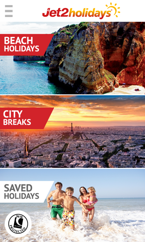 Jet2holidays: Package Holidays- screenshot