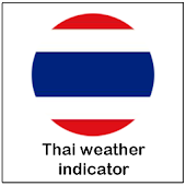 Thai weather indicator