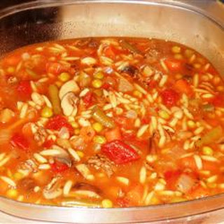Spicy Vegetable Beef Soup.