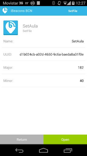 iBeacons BCN  screenshots 7