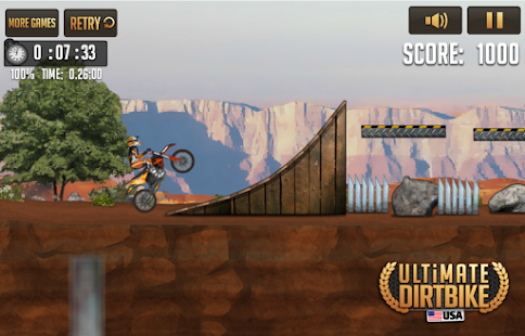 Ultimate Dirt Bike USA- screenshot thumbnail