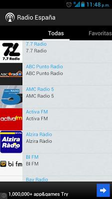 Radio Spain - screenshot