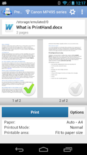 PrintHand Mobile Print Premium Screenshot