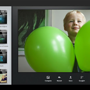 Snapseed Android App for improving image quality