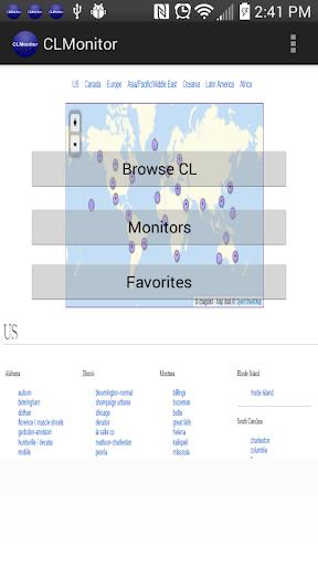 CLMonitor CraigsList Monitor
