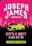 Joseph James Rye'd N Dirty Black Rye IPA