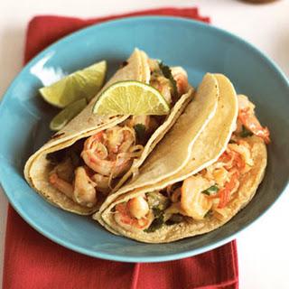Garlicky Shrimp-Cilantro Tacos (Tacos de Camarones al Mojo de Ajo)