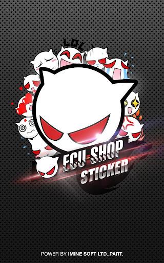 ECU=SHOP Sticker