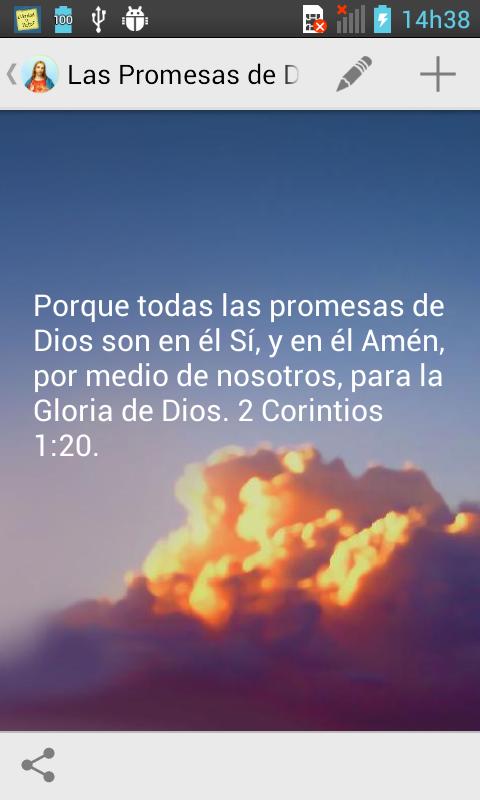 Las Promesas de Dios - screenshot