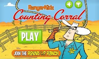 Screenshot of RangerKidz Counting Corral