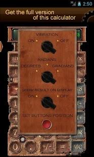 Steampunk Calculator Lite HD - screenshot thumbnail