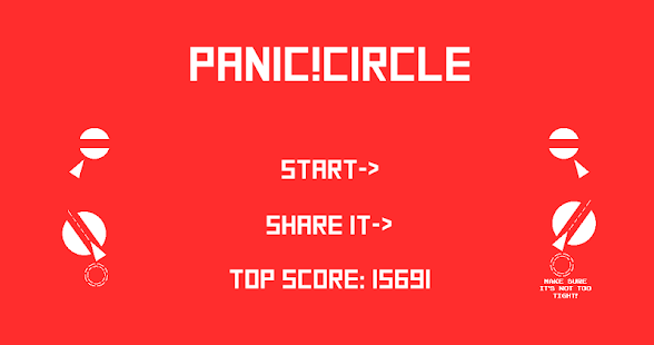 Panic Circle- screenshot thumbnail