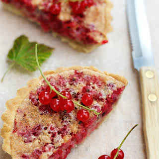 Red Currant Almond Tart.