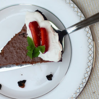 Chocolate Yogurt Pie