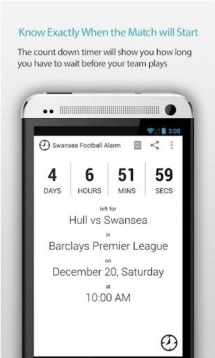 Swansea Football Alarm