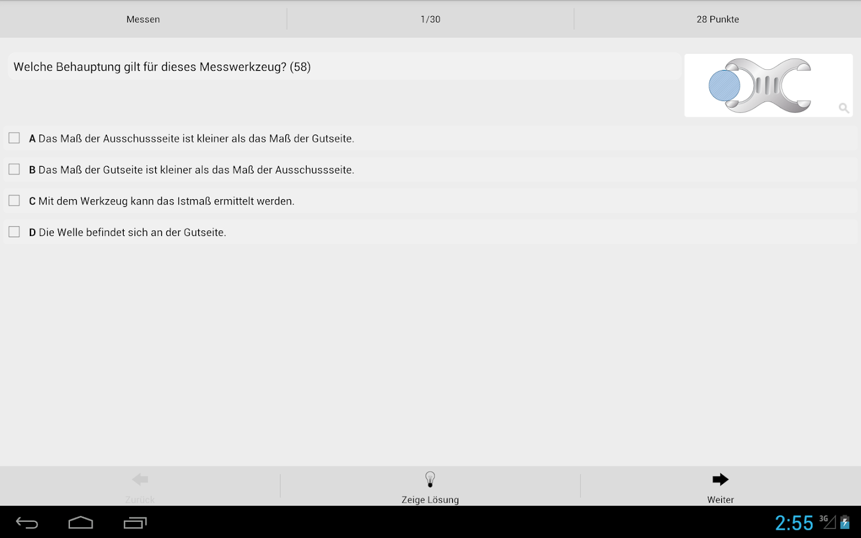 KFZ-Prüfungstrainer Teil 1- screenshot