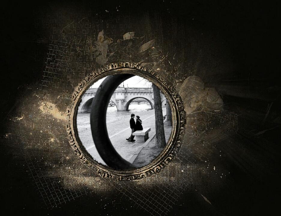 dark gothic photo frames screenshot