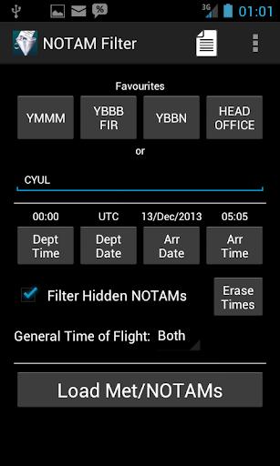 NOTAM Filter