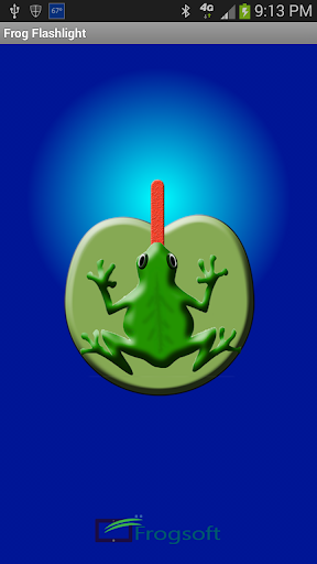Frog Flashlight