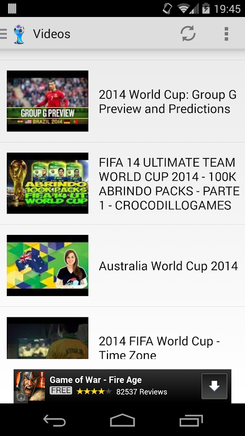 World Cup 2014- screenshot