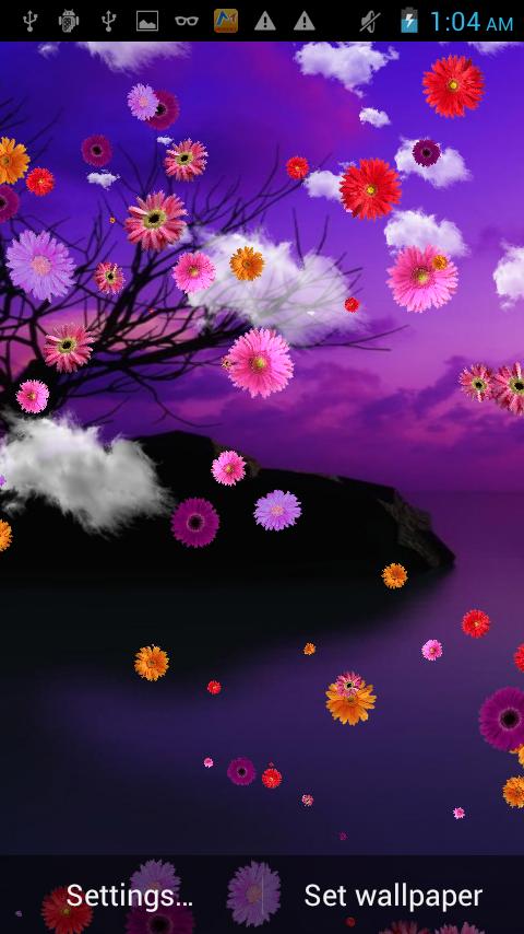 Flower Falling Live Wallpaper Google Play Store Revenue