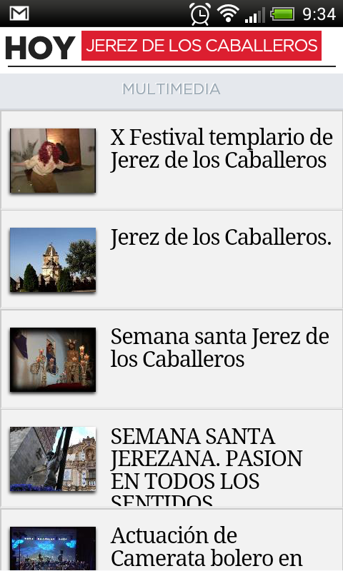HOY Hiperlocales- screenshot