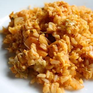 Kimchi Chahan (Fried Rice)