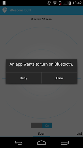 iBeacons BCN  screenshots 2