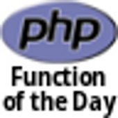 PHP Function of the Day DONATE