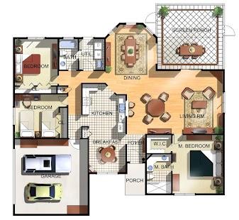 房子樓層平面圖