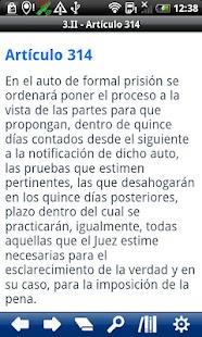 Penal P. Code Distrito Federal- screenshot thumbnail