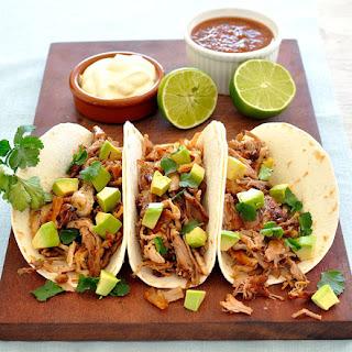 Quick Pork Carnitas Tacos.