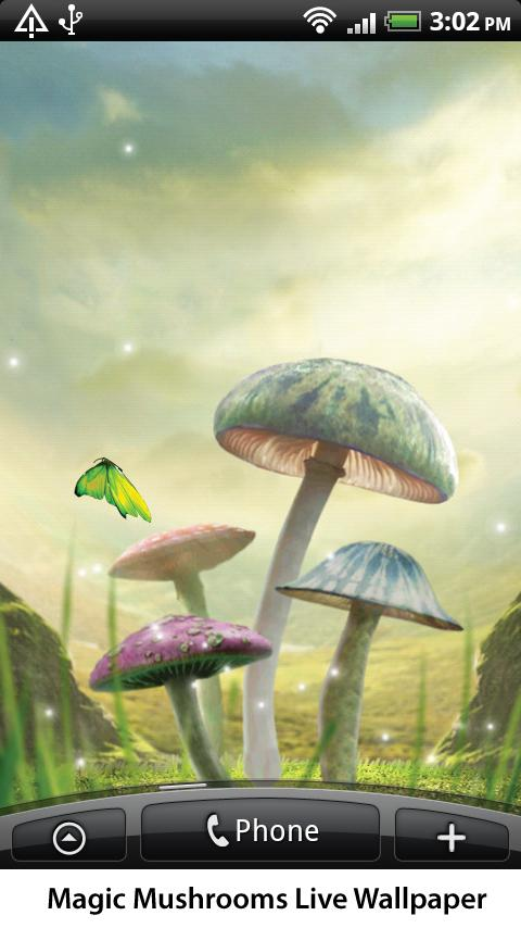 Magic Mushrooms Live Wallpaper- screenshot