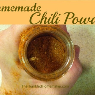 Homemade Chili Powder.