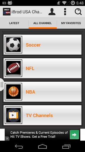 iBrod.TV USA TV channels