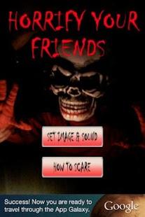 Horrify your friends- screenshot thumbnail