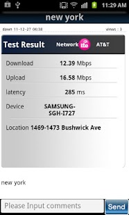 4G SpeedTest (LTE, WIMAX, 3G) - screenshot thumbnail