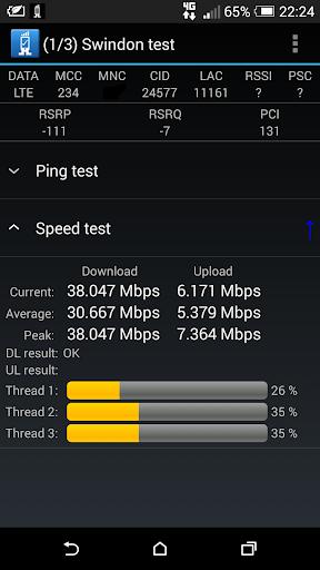 4G・WiFi・CDMA向けRandCellテスト