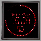 LED Ring Clock