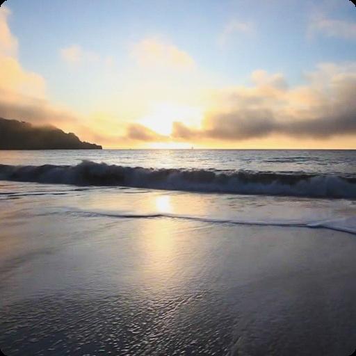 Ocean Waves at Sunset Live HD 個人化 App LOGO-硬是要APP