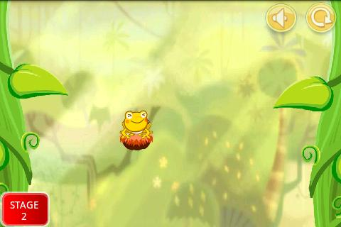 Frog Jump in Maze - screenshot