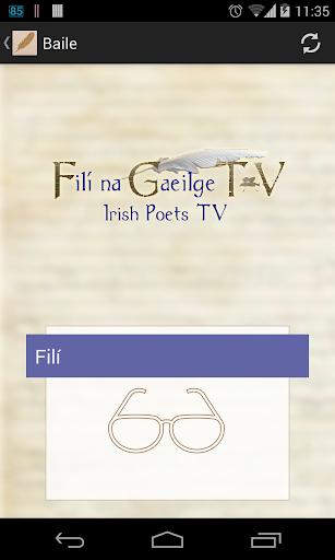 Filí na Gaeilge