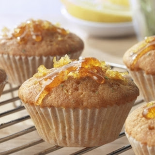 Lemon And Rosemary Cupcakes.