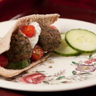 Black Lentil Falafel
