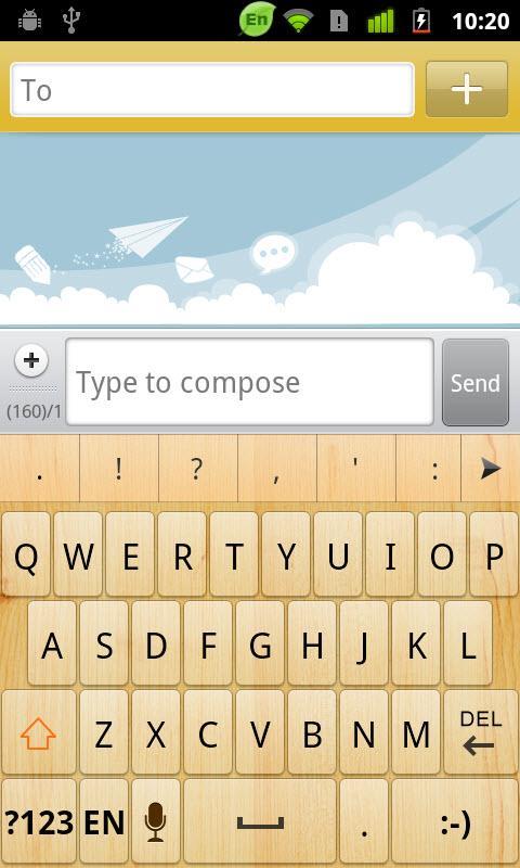 Georgian for GO Keyboard-Emoji screenshot #4