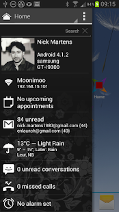 Appsi sidebar- screenshot thumbnail