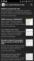 Screenshot of PSE Guides and News