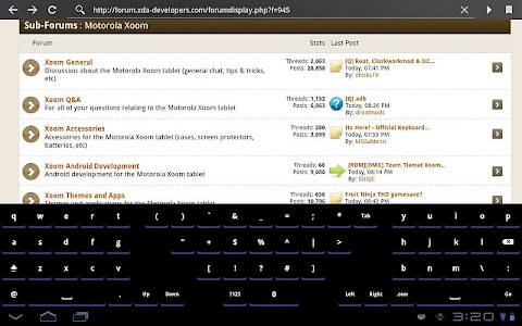 Open Split Keyboard screenshot 2
