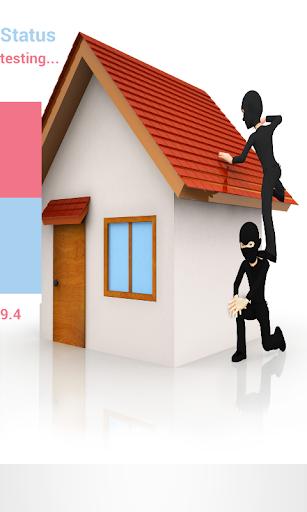 Home Security Alarm Burglar
