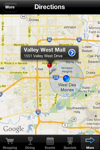 Valley West Mall- screenshot